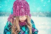 Winterportrait — Stockfoto