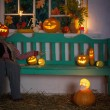 Halloween decoratie — Stockfoto #53603243