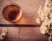 Cup of chamomile tea — Stock Photo