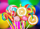 Colorful candies and sweets  — Stock Photo