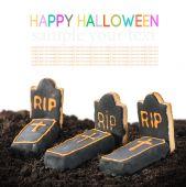 Homemade cookies Halloween — Stock Photo