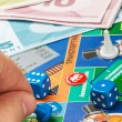 Постер, плакат: Monopoly game on the table