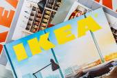 Collection of IKEA Catalogs 2014 — Stock Photo