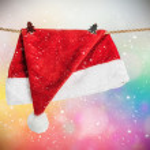 Christmas Hat Santa Claus — Stock Photo #57705353