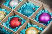 Christmas-tree balls — Stock Photo