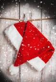 Navidad santa sombrero — Foto de Stock