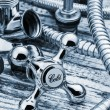 Plumbing and accessories — Stock Photo #59192889