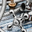 Plumbing and accessories — Stock Photo #59192895