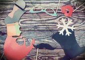 Paper fashion accessories — Stock Photo