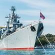 Russian guided missile cruiser Moskva — Stock Photo #60740373