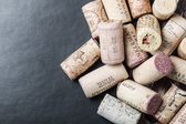 Famous wine corks — Stock Photo