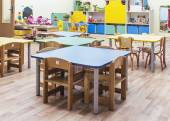 Children's furniture and toys — Stock Photo
