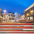 View of Tverskaya street from Manege Square — Stock Photo #61235061