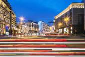 View of Tverskaya street from Manege Square — Stock Photo