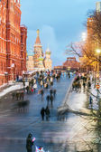 Red Square and St. Basil's Cathedral — Stock Photo