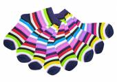 Colorful cotton socks — Stock Photo