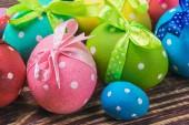 Decoración huevos de pascua — Foto de Stock