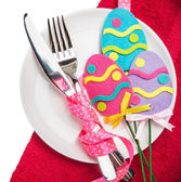 Decorations for the holiday of Easter — Stockfoto