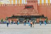 Lenin's mausoleum on Red Square — Stock Photo