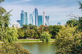 International Business Center Moscow-City — Stock Photo