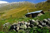 Old shepherd's house — ストック写真