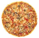 Pizza italiano (top view) — Stock Photo