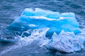 Arctic iceberg. ice stock. area Novaya Zemlya — Stock Photo