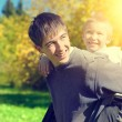 Brothers in the Park — Stock Photo #54221541