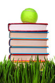 Books on the Grass — Stock Photo