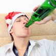 Teenager with a Beer — Stock Photo #57648843