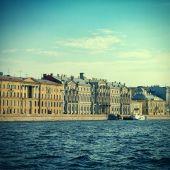 Saint Petersburg Landscape — Stock Photo