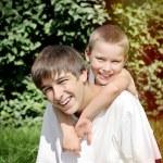 Happy Kid and Teenager Portrait — Stock Photo #59959063