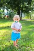 Child in the Park — Stock Photo