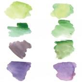 Watercolor spots — Stock Vector