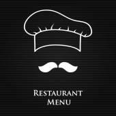 Restaurant en bar menulijst — Stockvector