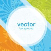 Abstract color background — Stock Vector