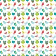 Birds seamless pattern — ストックベクタ #59003369