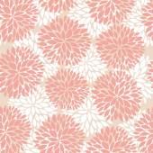 Elegant flowers seamless pattern — Stock Vector