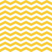 Seamless  ZigZag Chevron Pattern. Yellow and white vector background. — Stock Vector