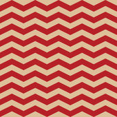Seamless  ZigZag Chevron Pattern. Red and white vector background. — Stock Vector