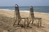 GOA India Beach, WIFI — Stock Photo