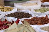 Spice Indian bazaar  Anjuna Market  Goa — Stock Photo