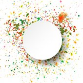 Abstract artistic Background with watercolor splash  — Stockvektor