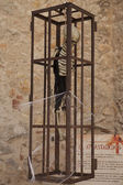 Medieval instruments of torture of the Inquisition in Spain — Stock Photo