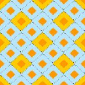 Seamless ikat pattern — Stock Photo