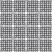 Abstract vector seamless black and white pattern with squares , dots design element. — Stock Vector