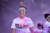 The Color Run Ventura — Stockfoto