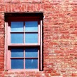 Red Brick Window — Stock Photo #59468245