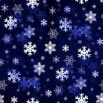Dark Blue Snowflakes — Stock Photo #59656581