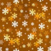 Altın kar tanesi — Stok fotoğraf